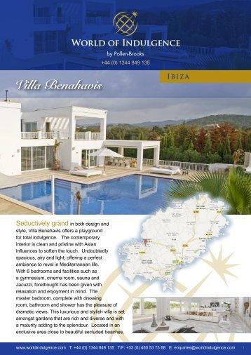 Villa Benahavis - World of Indulgence