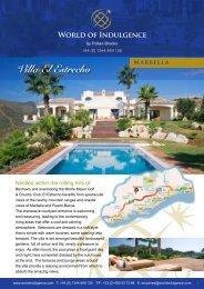 Villa El Estrecho - World of Indulgence