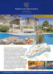 Villa Flamingos - World of Indulgence