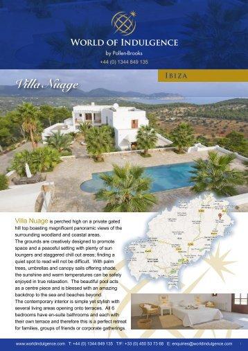 Villa Nuage - World of Indulgence