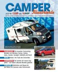 Die neuesten Caravaning Modelle von Bürstner, Hymer, Hobby