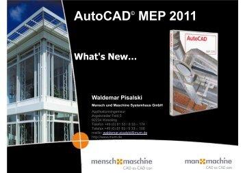AutoCAD MEP 2011 - Mensch und Maschine