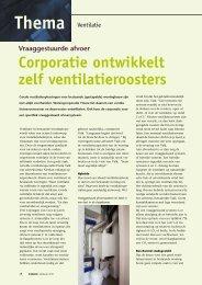 Corporatie ontwikkelt zelf ventilatieroosters