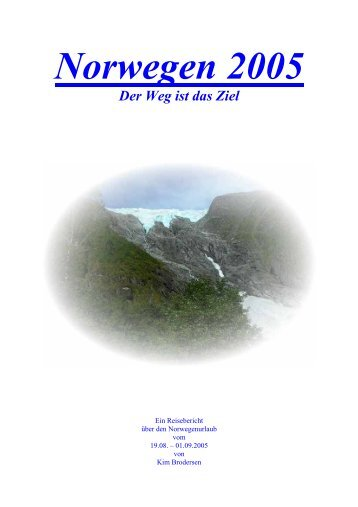 Norwegen 2005 - MG Skandinavien Reisen