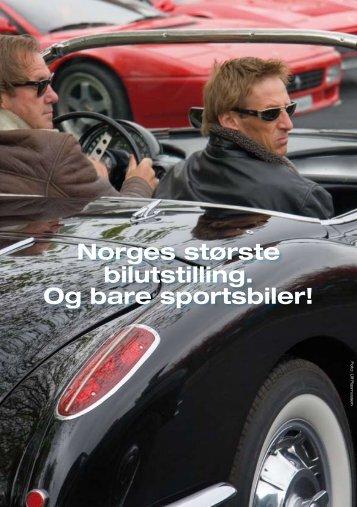 Norges største bilutstilling. Og bare sportsbiler! - Ferrari Club Norway