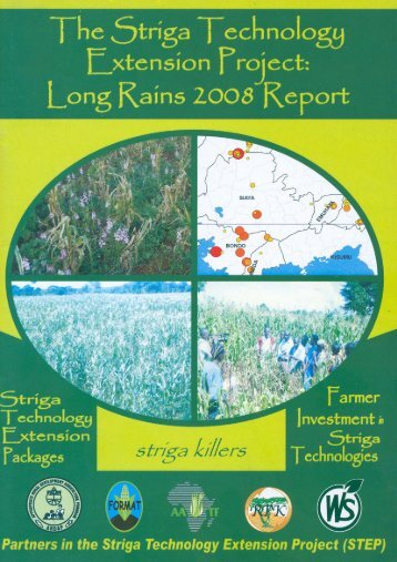 Striga Technology Extension Project (STEP) - African Agricultural ...