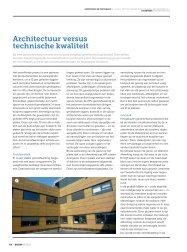 Architectuur volgens technische kwaliteit