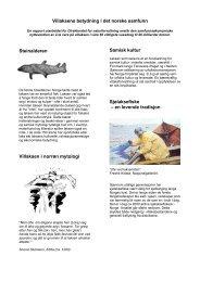 Villaksens betydning - PDF - Norske Lakseelver