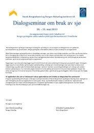 30. – 31. mai 2013 - Norske Lakseelver