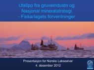 Jan Henrik Sandberg Norges Fiskarlag - Norske Lakseelver
