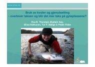 overlever laksen og blir det mer laks på - Norske Lakseelver