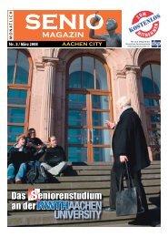 magazin Das eniorenstudium an der - Senio Magazin
