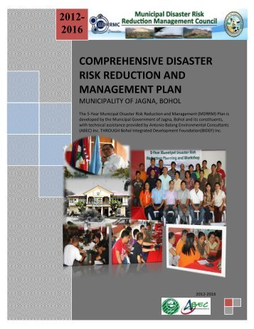 comprehensive disaster risk reduction and management plan - Jagna