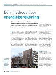Een methode voor energieberekening - Nieman Raadgevende ...
