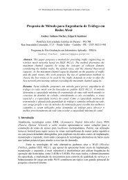 Proposta de Método para Engenharia de Tráfego em ... - SBRC 2010