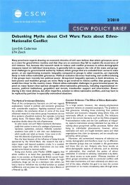 Debunking Myths about Civil Wars: Facts about Ethno ... - PRIO