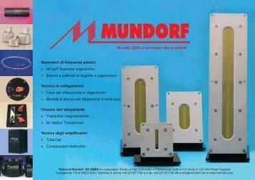 HOLOGRAPHIC SOUND DEVICES - Mundorf EB GmbH