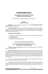 Supplementing Market Code of Jagna