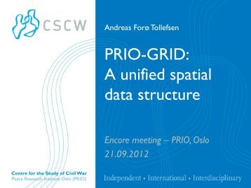 PRIO-GRID: A unified spatial data structure