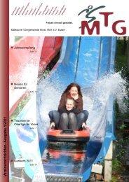 V ereinsnachrichten- Ausgabe 1/2011 - MTG Horst
