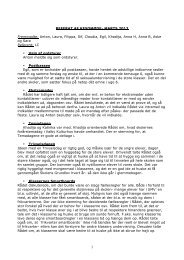 Referat Kesomøde marts 2013