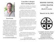 David Frenette - Contemplative Outreach