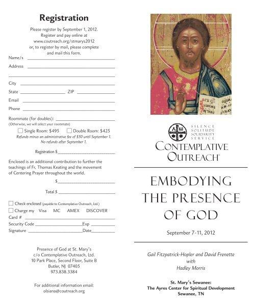 Download Brochure - Contemplative Outreach