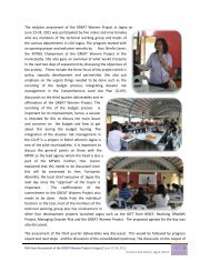 1 The midyear assessment of the GREAT Women Project in Jagna ...
