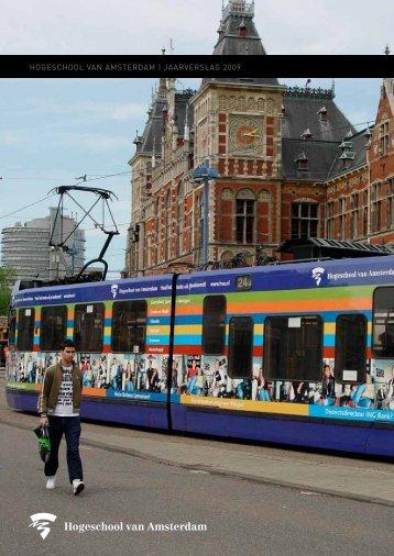 HOGESCHOOL VAN AMSTERDAM | JAARVERSLAG 2009