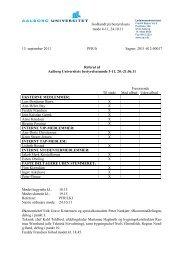 Hent referat - Aalborg Universitet
