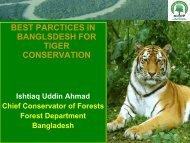 Best Practices in Bangladesh for Tiger Conservation - Global Tiger ...