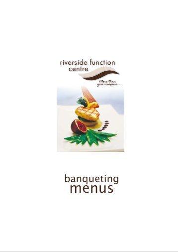Banqueting menus web - Ballina RSL Club