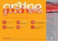 goodnews online Ausgabe 12/01 20011/2012 - ancotel GmbH