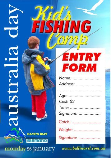 Australia Day Kids Fishing entry form.pdf - Ballina RSL Club