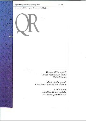 Spring 1995 - Quarterly Review