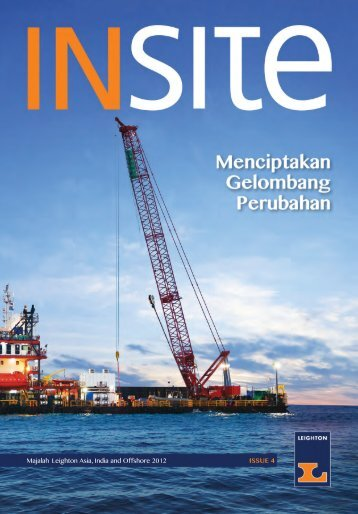 ISSUE 4 Majalah Leighton Asia, India and Offshore 2012