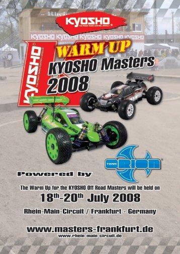 18th-20th July 2008 - Kyosho