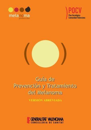 Folleto prevención melanoma.qxp - Conselleria de Sanitat