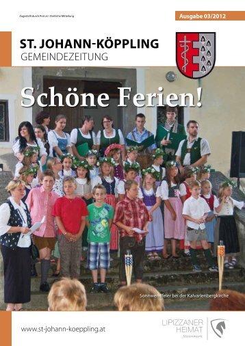 Ausgabe 03 - FC St. Johann - Köppling