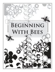 Beginning With Bees - Agricultural Research Service