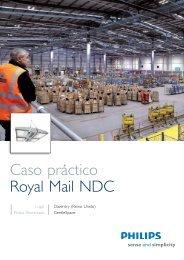 Caso práctico Royal Mail NDC - Philips Lighting