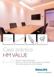 Caso práctico HM Value - Philips Lighting