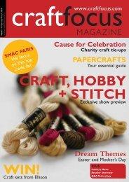CRAFT, HOBBY + STITCH WIN! - Beardie Designs