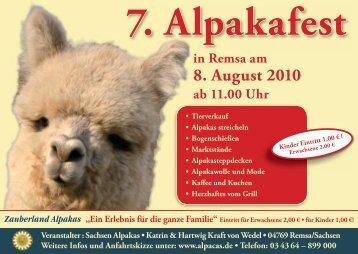 in Remsa am 8. August 2010 ab 11.00 Uhr - zweistromland