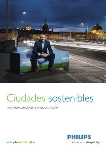 Folleto Ciudades sostenibles - Philips