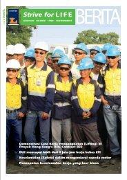 Demonstrasi Cara Kerja Pengangkatan (Lifting) di ... - Leighton Asia