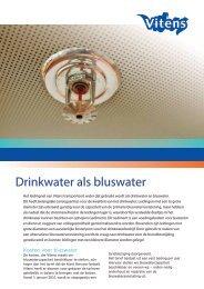 Drinkwater als bluswater