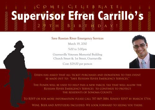 Supervisor Efren Carrillo's