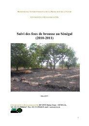 Suivi des feux de brousse au Sénégal (2010-2011) - Centre de Suivi ...