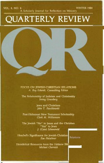 Winter 1984 - 1985 - Quarterly Review